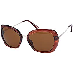 Accessorize Damen Quadratische Sonnenbrille mit eckiger Form - Einheitsgröße