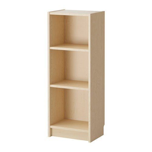 IKEA BILLY Bücherregal aus Birkenfurnier; (40x28x106cm) (Birke Bücherregal)