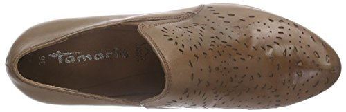Tamaris24310 - Stivali classici imbottiti a gamba corta Donna Marrone (Braun (CAFE 361))