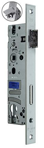 BKS Rohrrahmenschloss/Rahmenschloß 25/92/8, Stulp: 24 x 245mm, DIN Links/Rechts (Umstellbar) incl. SN-TEC® Montageset