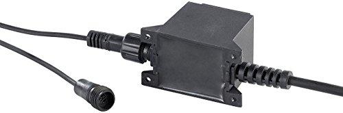 Lunartec Zubehör zu Solar-Gartenleuchte-Sets: Netzteil für Solar LED-Wegeleuchte NX5335, IP68 (Gartenbeleuchtung Solar LED)