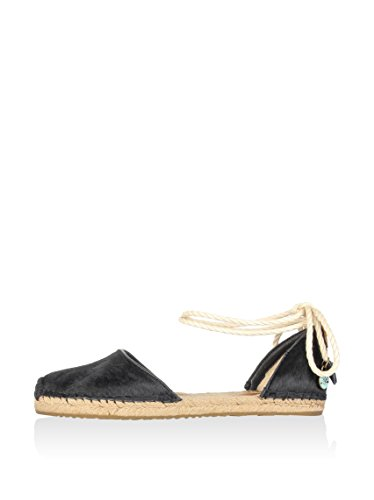 Ugg Australia Women's Libbi Calf Hair Black Espadrilles Nero