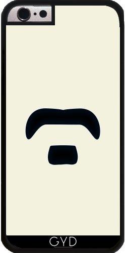 Coque pour Iphone 6 (4,7 '') - moustache by hera56 Plastique Rigide