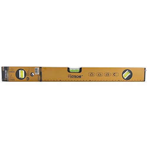 Hoteche 283005 Magnetische Wasserwaage, Orange, 50 cm