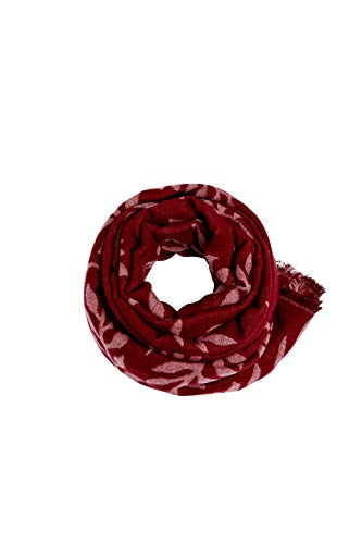 ESPRIT Accessoires Damen 089EA1Q010 Schal, Rot (Garnet Red 620), One Size (Herstellergröße: 1SIZE)
