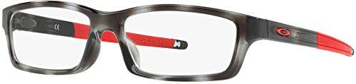 Oakley Rx Brillen - Cross Jugend/Asien Fit (53) - Nur Rahmen Grauer Schildkröte