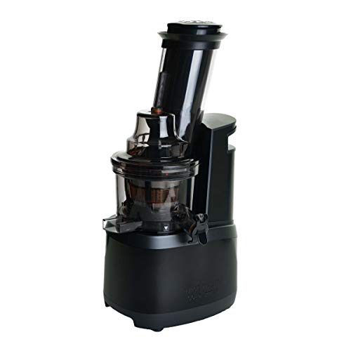 Jason Vale Juice Master Cold Press Juicer - Stainless Steel Design and Wide, Angled Chute, Designed to Extract The Maximum Amount of Juice.