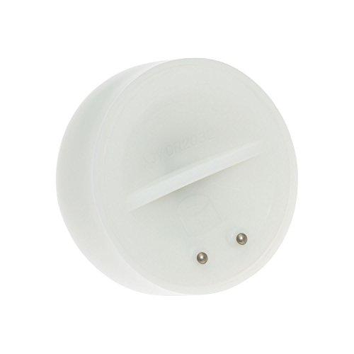 LuminalPark - Conjunto de 12 Velas LED de Té Flotantes con efecto llama y pilas incluidas para Decoración de Jardín e Iluminación de Eventos