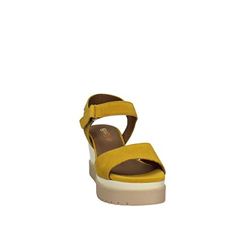 Igi&Co 7866 Sandales Compensées Femmes Jaune