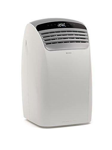 Olimpia Splendid Mobiles Klimagerät, 01697 Dolceclima Silent 12, Luftkühler mit Entfeuchtung und Timer-Funktion, Kühlleistung: 2,8 kW - 12000 BTU/h, EEK A