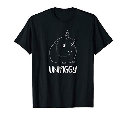 Unipiggy Meerschweinchen T-SHIRT Einhorn Haustier Mädchen (Coole Meerschweinchen Kostüme)