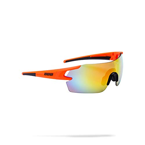 BBB Cycling Fahrradsonnenbrillen, Fullview Sportbrillen Mit Wechselgläsern, BSG-53, Matt O Preisvergleich