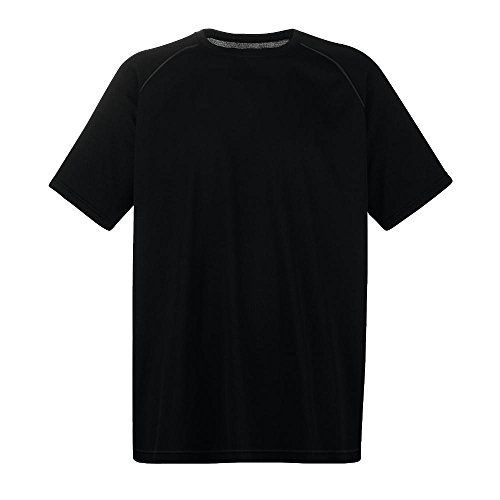Fruit of the Loom - Funktions-T-Shirt 'Performance T' Black