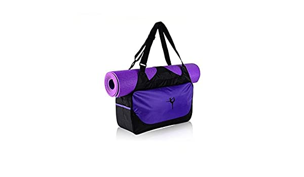 ATTOUPAN Yoga Tapis De Yoga Sac De Gymnase Sports Holdall Voyage Weekender  Sac De Duffel (Violet)  Amazon.fr  Sports et Loisirs 258a50bf3cf