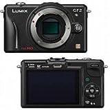 "Panasonic Lumix DMC-GF2KBODY 12.1 MP Compact System Camera Body with 3"" LCD Display"