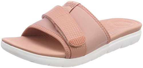 FitFlop Neoflex Slide, Sandales Bout Ouvert Femme 588 DUSTY PINK