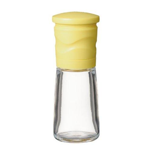 Le CM-15N-YL [! Frottez rugosit? fermement r?glable, il suffit de tourner l?g?rement] Kyocera moulin c?ramique (s?same uniquement) jaune (japon importation)