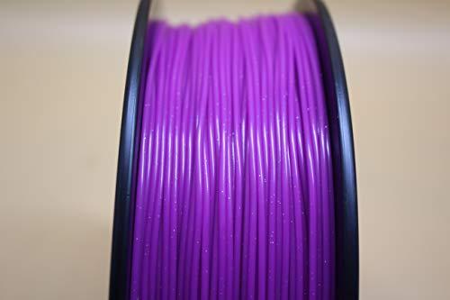 FAKER FROG PRIME PLA Filamento de Impresión 3D - Filamento PLA+ Premium, 1.75mm 0,02MM 1KG | Impresora 3D y boligrafo/pluma 3D (Morado Glitter)