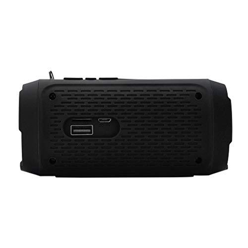 Tragbarer drahtloser HiFi-Bluetooth-Lautsprecher Stereo-Soundleiste TF FM-Radio-Subwoofer-Säulenlautsprecher für Computertelefone