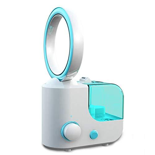Ventilador De Pie Silencioso Nebulizador Ventilador Vertical Silencioso Sin Aspas Adecuado para...