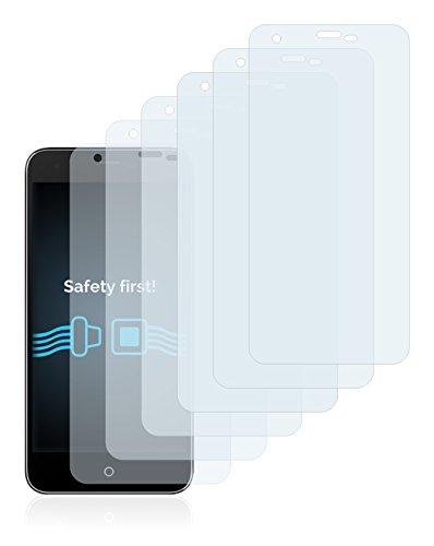 Savvies Schutzfolie für Siswoo i7 Cooper [6er Pack] - klarer Displayschutz