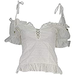 Guess Corset Broderie Anglaise W92h0c Wbk90 Jeans