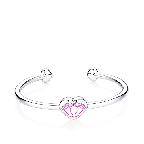 collier pendentif/925 pieds d'argent bébé bracelets enfant/L'enfant naît un cadeau de la pleine lune A
