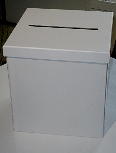Urne cartonnée carrée Blanche