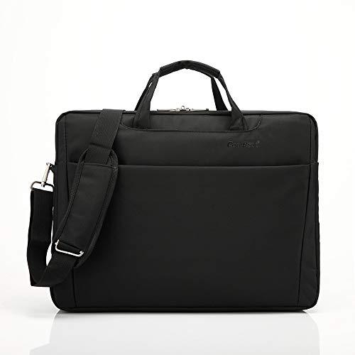 RATBAG Computer Tasche Männer Schulter Notebook Tasche weibliche Unternehmen einzelne Schulter Computer Tasche Zoll Zoll Schwarze Laptop-Tasche