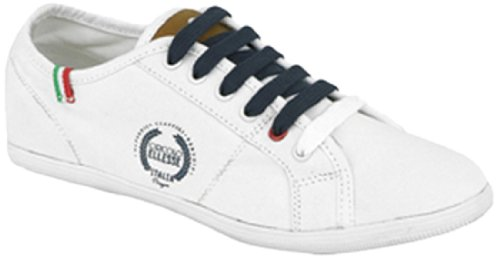 Ellesse Boy's Biagio Canvas Baskets blanc