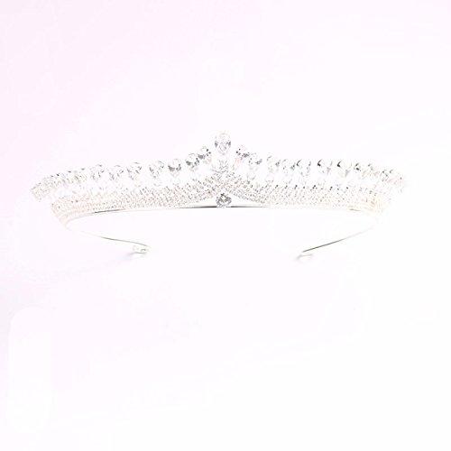 KUNQ-Nupcial Corona Perforadora Sombreros Accesorios