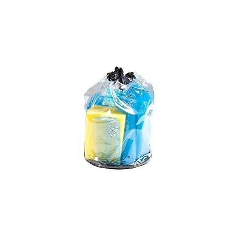 AKTION Putzset Putzzeug mit Straßsteinchen Verzierung mit Tasche 7 tlg, Farbe:blau