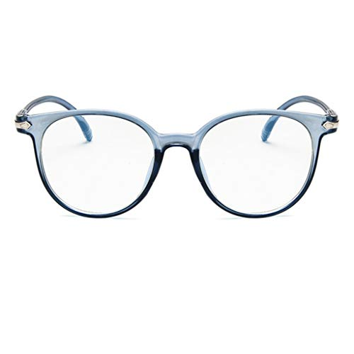 BURFLY Unisex Anti-Blue Brillengestell Männer und Frauen Retro optisch niedlich Anti-Rutsch-Brille Vollformat Brillengestell