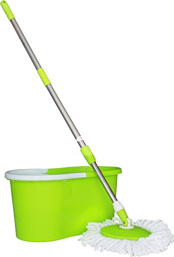 Princeware 6207 360-Degree Magic Mop (Green)