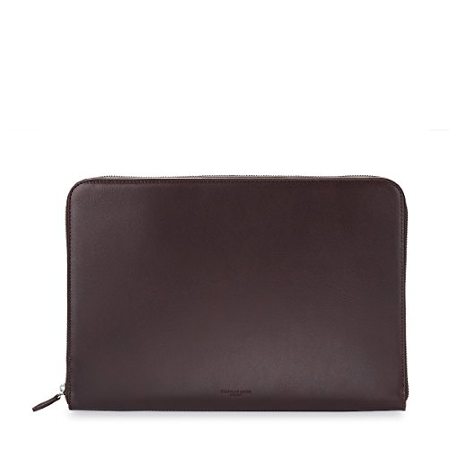 zip-around-folio-smooth-leather-chocolate