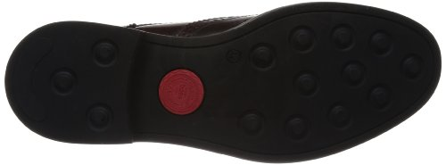 Londres Zapatos Brillo bordo De Basado Woburn Rojo De Vestir Hi Hombre rEqrwBcUn