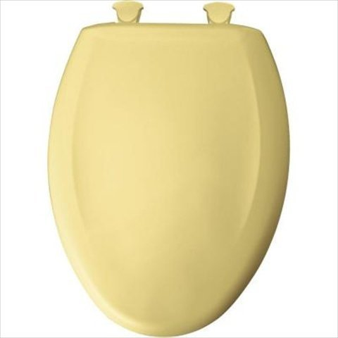 Awesome Church 1200Slowt 211 Slow Close Sta Tite Elongated Closed Front Toilet Seat In Yellow By Church Bemis Pabps2019 Chair Design Images Pabps2019Com