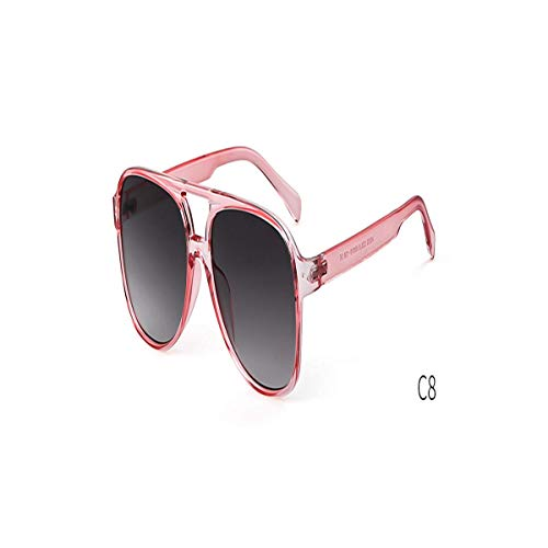 Daawqee Prämie Sonnenbrillen,Brillen, Oversized Pilot Sunglasses Women Brand Design Tortoiseshell Aviation Sun Glasses Shades OM788