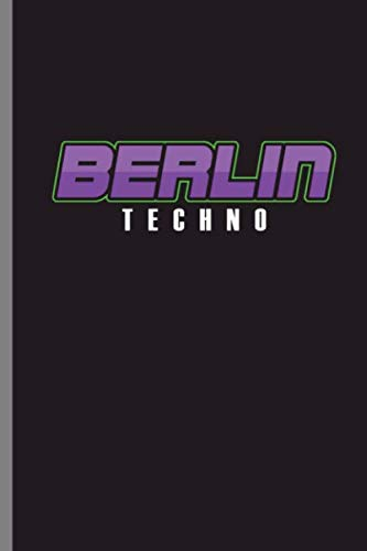 Berlin Techno: Berlin Techno Music Techno Station Travel Music Lovers EDM Electronic Dance Gift (6