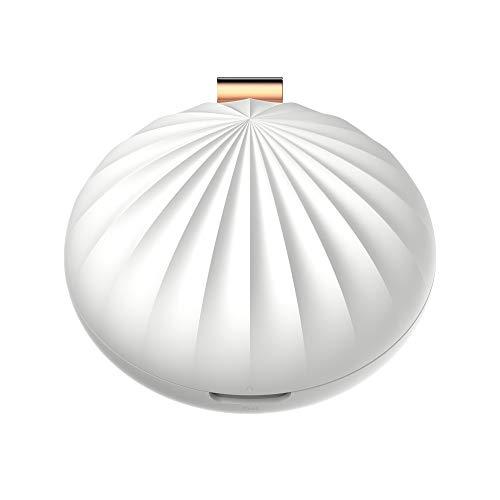 YLRJ Shell Tragbare Mobile Aromatherapie Maschine Hause Auto Mini Diffusor Luftreiniger Einfache Mode,White -