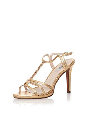 Caramelo 42413-09476-810 Sandaletten Leder gold Gold
