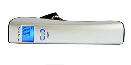 Balanza de equipaje, 50Kg X 0.05kg, Alimentado por dos pilas AAA