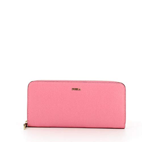 Portafoglio Babylon Slim XL Zip Around Furla FLAMINGO f