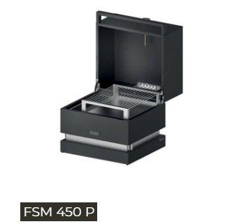 Galleria fotografica Fògher FSM 450P SMOKER PORTATILE FOGHER dim. GRIGLIA 445x380 mm