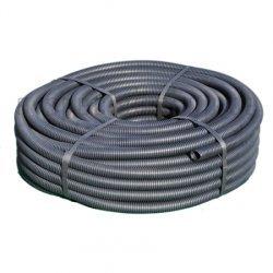 Elektrorohr Kabelschutzrohr Installationsrohr flexibel M32 schwarz 50m Ring