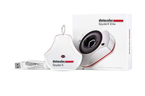 Datacolor SpyderX Elite - Calibrador de Monitor diseñado para Expertos, fotógrafos...