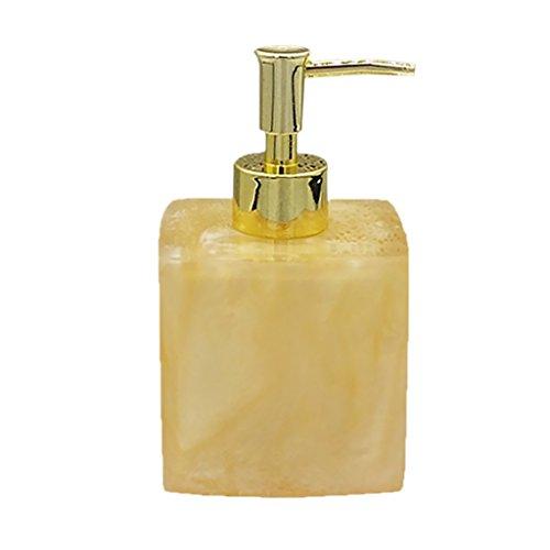 MagiDeal Stylish FOAMER Soap Dispenser Lids w/ Pump for Home Hotel Office Bathroom - Yellow, 8.5×7.8×15cm