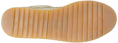 Naturino ANA VELCRO Mädchen Sneakers Gold (PLATINO 9121)