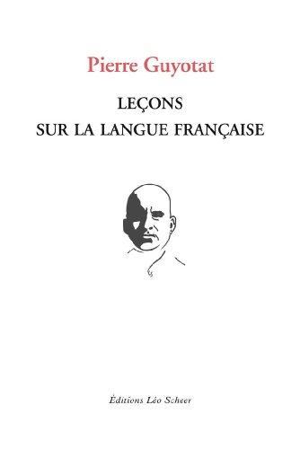 Leçons sur la langue française