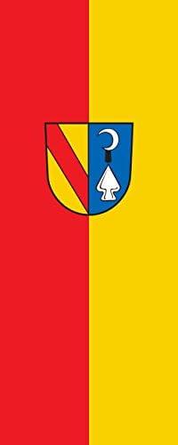 magFlags Drapeau Bahlingen am Kaiserstuhl | Portrait Flag | 3.5m² | | 3.5m² 300x120cm e5e0d9